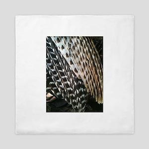 Turkey Feathers Queen Duvet