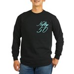 Nifty 50 Long Sleeve Dark T-Shirt