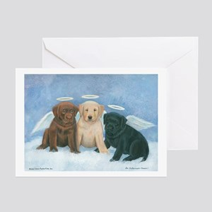 Angel Labbies Greeting Cards (Pk of 10)