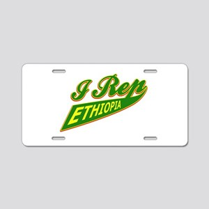 I rep Ethiopia Aluminum License Plate