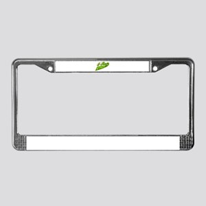 I rep Ethiopia License Plate Frame