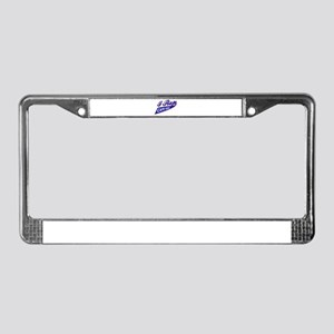 I rep Cape Verde License Plate Frame