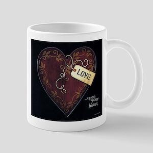 Open your heart... Mug