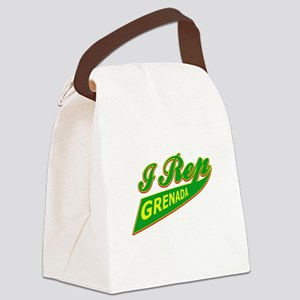 I rep Grenada Canvas Lunch Bag