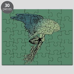Flying Brain Creature Puzzle