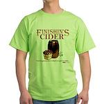 Finishin's Cider Green T-Shirt