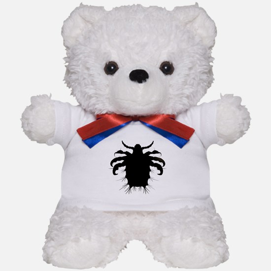 Support Pubic Lice Teddy Bear