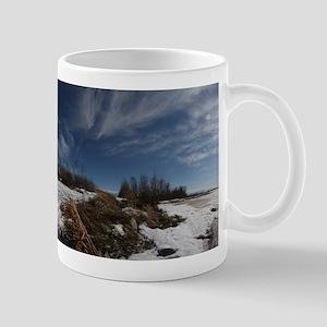 Windy, Sunny Day at Lac Cardinal Mug