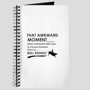 Bull Riding sports designs Journal