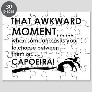 Capoeira sports designs Puzzle