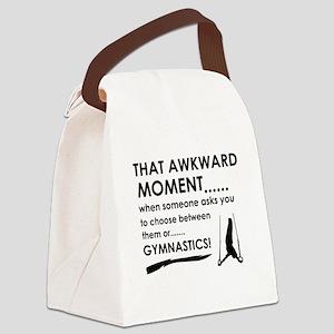 Gymnastics sports designs Canvas Lunch Bag