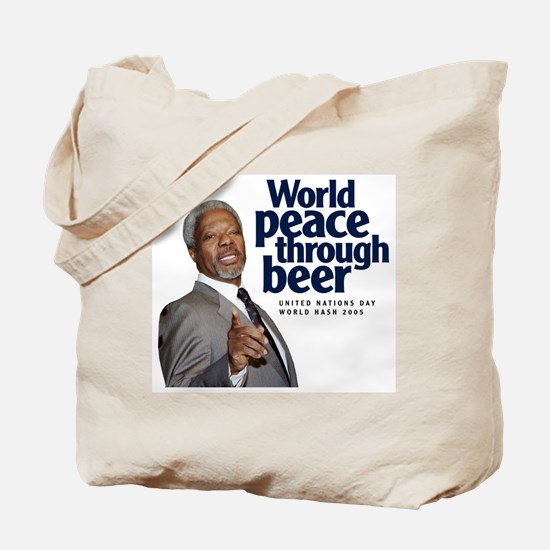 2005 World Peace Through Beer Tote Bag