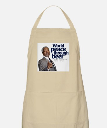 2005 World Peace Through Beer BBQ Apron