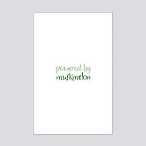 Powered By muskmelon Mini Poster Print