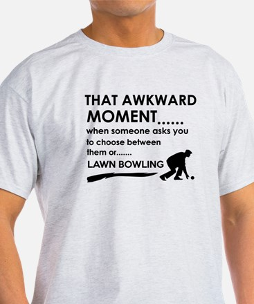 Lawn Bowling sports designs T-Shirt