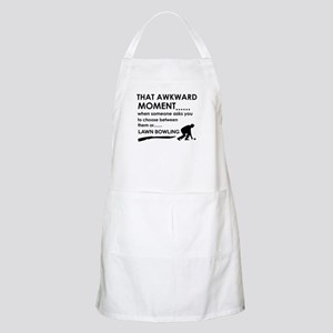 Lawn Bowling sports designs Apron