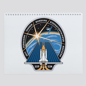 STS 115 Patch Wall Calendar