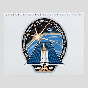 STS 115 Patch Wall Calendar