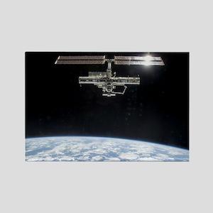 International Space Station Rectangle Magnet