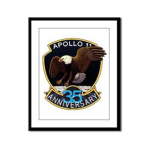 Apollo 11 35th Anniversary Framed Panel Print