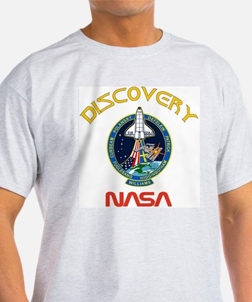 STS 116 Discovery Ash Grey T-Shirt