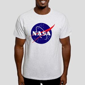First 117 NASA logo Ash Grey T-Shirt