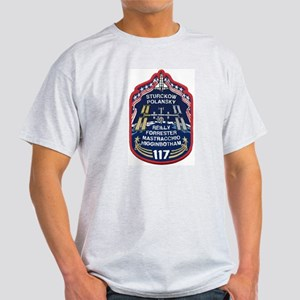 STS 117 Original Crew Ash Grey T-Shirt