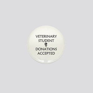 Vet Student Donations Accepted Mini Button