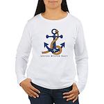 OES Navy Women's Long Sleeve T-Shirt