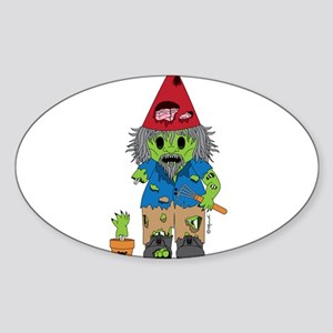 Zombie Gnome Sticker