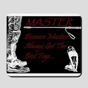 Master's Toys - BDSM Design Mousepad