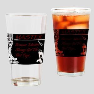 Master's Toys - BDSM Design Drinking Glass