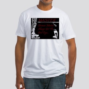 Master's Toys - BDSM Design T-Shirt