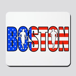 Boston patriot Mousepad