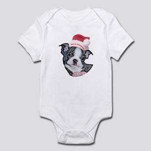 Boston Terrier Puppy Infant Creeper