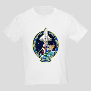 STS 116 Launch Crew Kids Light T-Shirt