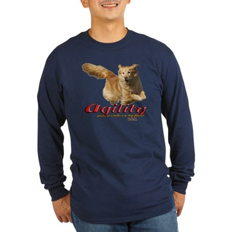 Agility Smile Long Sleeve Dark T-Shirt