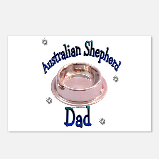 Aussie Dad Postcards (Package of 8)