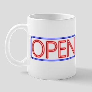 Neon Open Mug