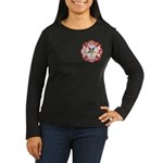 OES Fire & Rescue Women's Long Sleeve Dark T-Shirt