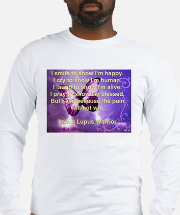 Lupus Warrior Long Sleeve T-Shirt