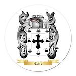 Caro Round Car Magnet