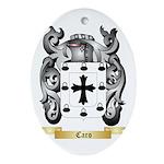 Caro Ornament (Oval)