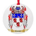 Carney Round Ornament