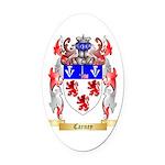 Carney Oval Car Magnet