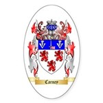Carney Sticker (Oval 50 pk)