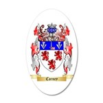 Carney 20x12 Oval Wall Decal