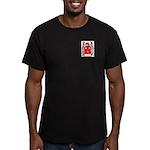 Carnes Men's Fitted T-Shirt (dark)