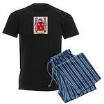 Carnes Men's Dark Pajamas