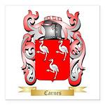 Carnes Square Car Magnet 3